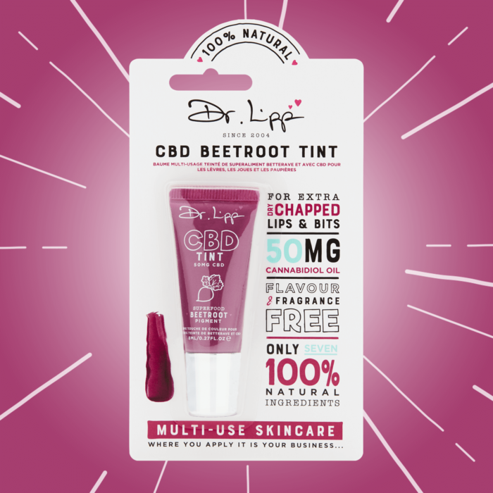 Welcome the CBD Superfood Beetroot Tint!
