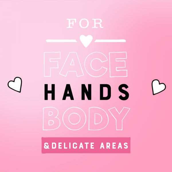 For face hands body
